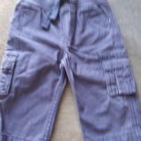 calça marinho com detalhes de bolsos - 6 meses - OshKosh
