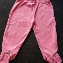 calçudo Rosa com lacinho azul no pezinho - 6 meses - Carter`s