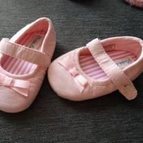 sapatilha tipo boneca rosa - 15 - Ralph Lauren