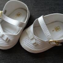 sapatilha tipo boneca branco - 15 - Pimpolho