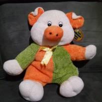 Porquinho verde e laranja -  - DTC