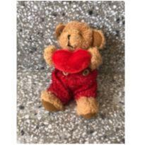 Ursinho com coração  10cm