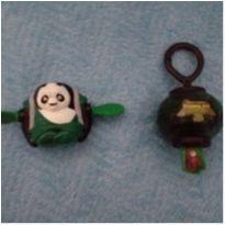 Brinquedos Kung fu panda do burguer king - 2 unidades -  - Não informada