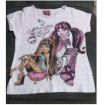 Camiseta monster high - 4 anos - Monster High