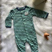 Macacão Carters listradinho - 3 meses - Carter`s