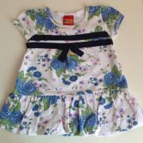 Blusinha floral Kyly - 9 a 12 meses - Kyly