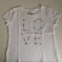 Camiseta branca OshKosh - 18 a 24 meses - OshKosh