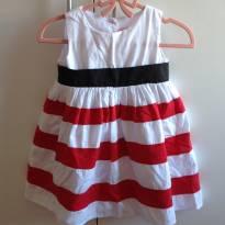Vestido rodado - Pettigirl - Tam. 1 - 12 a 18 meses - Pettigirl