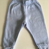Calça de moletom azul claro - 6 a 9 meses - Teddy Boom