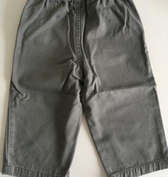 Calça de sarja cinza Carter's - 6 a 9 meses - Carter`s