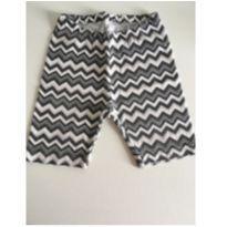 Shorts de lycra preto e branco - 2 anos - Póim