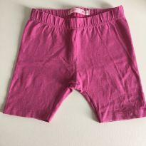 Shorts de lycra rosa - 2 anos - Póim