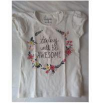 Camiseta Branca - 3 anos - Palomino