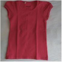 Camiseta básica pink - 3 anos - Palomino