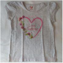 Camiseta Love Summer - 2 anos - Baby Club