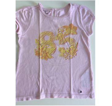 Camiseta Rosa - 3 anos - Tommy Hilfiger