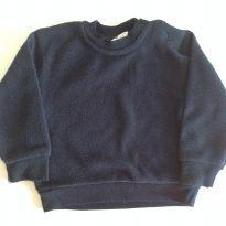 Blusa de plush azul marinho - Póim - Tam. 6-9M