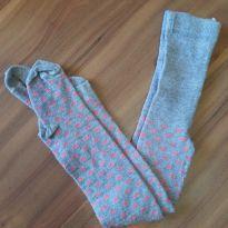 Meia calça de corações - 3 anos - Trifil