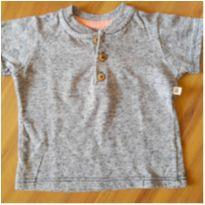 Camiseta cinza Teddy Boom 3-6 meses - 3 a 6 meses - Teddy Boom
