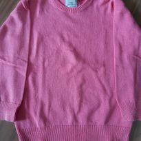 Blusa de malha rosa