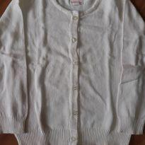 Cardigan Off white - 24 a 36 meses - Baby Club