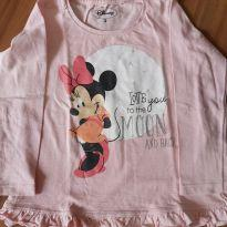 Camiseta manga longa Minnie