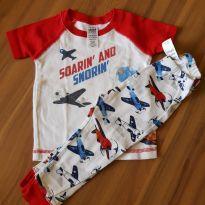 Pijama Aviões - 6 a 9 meses - Child of Mine
