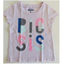 Camiseta lilás - 24 a 36 meses - OshKosh