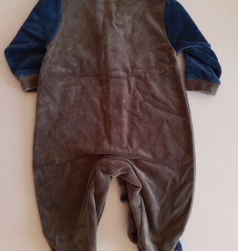 Macacão Ursinhos de plush, RN - Recém Nascido - Pró Baby