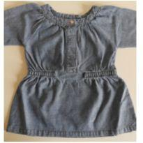 Blusinha jeans Carter`s 6 meses - 3 a 6 meses - Carter`s