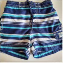 Shorts de praia/piscina listrado Carter`s 18M - 12 a 18 meses - Carter`s
