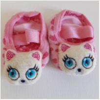 Meia sapatilha de gatinha Puket - 6 meses - Puket