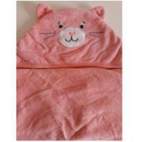 Toalha de banho com capuz de gatinha -  - Walmart