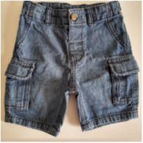 Bermuda Jeans com bolsos laterais Carter`s 12M