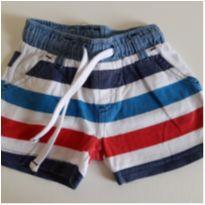 Shorts listrado Chicco 6M