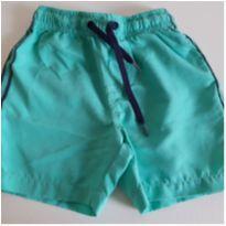 Shorts de Tactel verde 9-12M - 9 a 12 meses - Teddy Boom