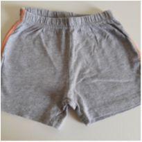 Shorts cinza 9-12M
