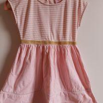 Vestido rosa claro Tam. 3 - 2 anos - Baby Club