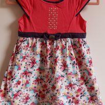 Vestido Floral Tam. 2 - 18 a 24 meses - Fakini