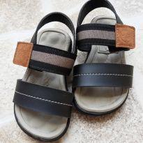 Sandália para menino com velcro preta Molekinha Tam. 20 - 20 - Molekinho