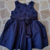 Vestido rodado azul marinho OshKosh 18M - 12 a 18 meses - OshKosh