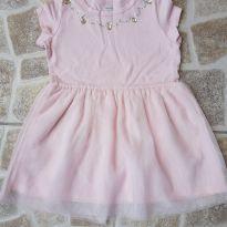 Vestido rosa com tutu Carter`s 2T - 3 anos - Carter`s