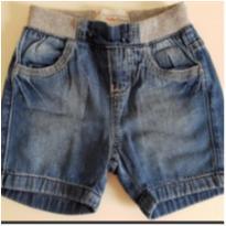 Bermuda Jeans 3-6 meses - 3 a 6 meses - baby Demim