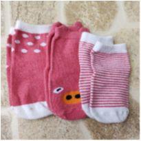 Kit de meias 2-3 anos - 2 anos - Sem marca