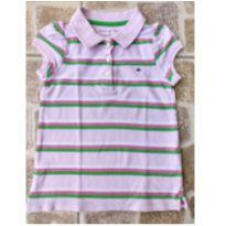 Camiseta polo listrada Tommy Hilfiger Tam. 4T - 4 anos - Tommy Hilfiger