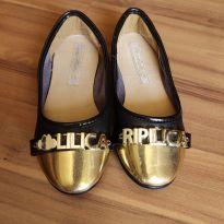 Sapatilha preta e dourada - Lilica Ripilica - Tam. 26 - 26 - Lilica Ripilica