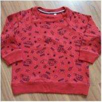 Blusa de moletom vermelha - Baby Club - Tam. 1 - 1 ano - Baby Club