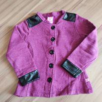 Jaqueta roxa - Abrange - Tam. 4 - 4 anos - Abrange