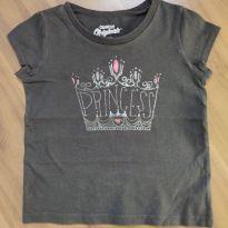 Camiseta cinza - OshKosh - Tam. 18M - 12 a 18 meses - OshKosh
