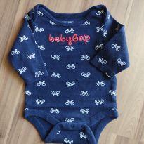 Body manga longa - Baby Gap - Tam. 0-3M - 0 a 3 meses - Baby Gap